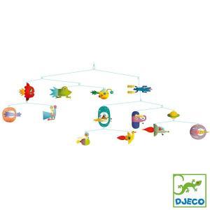 DJECO ジェコ モビール スペース ビークル DD04325 知育玩具|sun-wa
