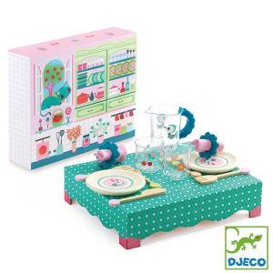 DJECO ジェコ ランチタイム DJ06617 ランチセット 知育玩具 ままごと|sun-wa