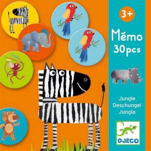 DJECO ジェコ メモ ジャングル DJ08159 知育玩具 カードゲーム|sun-wa