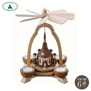 ドレクセル ウィンドミル 聖夜の教会 DR1282-43TL 知育玩具|sun-wa