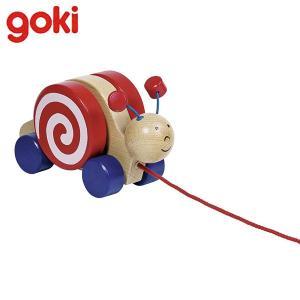 Gollnest&Kiesel ゴルネスト&キーゼル プル アロング スネイル ワンジャ G54977 知育玩具 sun-wa