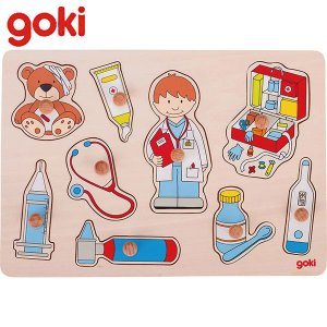 Gollnest&Kiesel ゴルネスト&キーゼル リフトアウトパズル アットザドクター G57748 知育玩具|sun-wa
