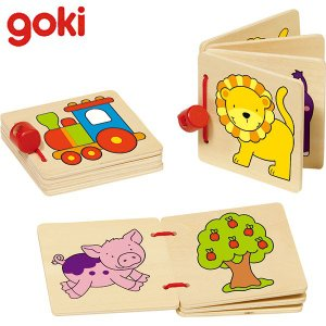 Gollnest&Kiesel ゴルネスト&キーゼル ウッドピクチャーブック ベーシック G59983 知育玩具|sun-wa