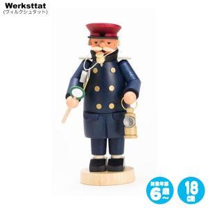 煙出し人形・駅員 GE146-978 知育玩具|sun-wa