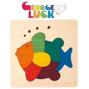 ジョージ・ラック・パズル カラフルパズル・さかな GL6502|sun-wa
