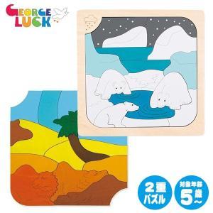 ジョージ・ラック・パズル 2重パズル・アイス&ホット GL6519|sun-wa
