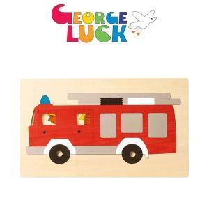 ジョージ・ラック・パズル 2重パズル・消防車 GL8161|sun-wa