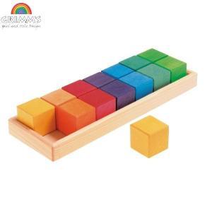 【9/16-21はポイント最大17倍!】グリムス GM色と形つみき(5種) GM10065 知育玩具 sun-wa