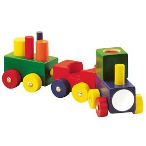 ハバ よちよちトレイン HA1197(ベビー用電車のおもちゃ、車) 知育玩具 sun-wa