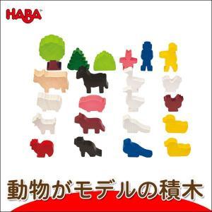 ハバ ミニランド・ファミリー HA2363(積木) 知育玩具|sun-wa