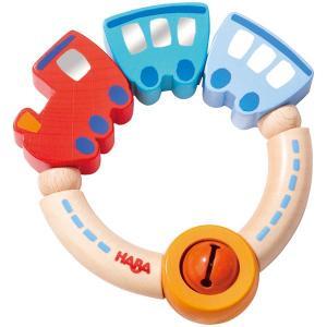 ハバ ラトル・シュッポッポ HA3871(がらがら、ラトル) 知育玩具|sun-wa