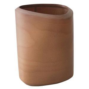 ブナコ ゴミ箱 木製 おしゃれ ダストボックス ツイスト2 Lサイズ IB-D8112|sun-wa|02