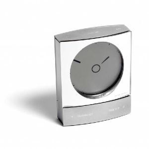 ヤコブ・イェンセン ウェイクアップクロック JBXA116S シルバー鏡面仕上げ JBXA116S-A|sun-wa