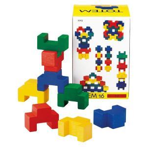 レシオ トーテム16 LE2003(ベビー用積み木、ブロック) 知育玩具|sun-wa