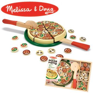 Melissa&Doug メリッサ&ダグ ピザパーティー MD0167 知育玩具|sun-wa