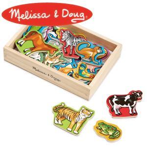 Melissa&Doug メリッサ&ダグ アニマルマグネット MD0475 知育玩具|sun-wa