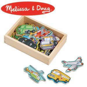 Melissa&Doug メリッサ&ダグ ビークルマグネット MD8588 知育玩具 sun-wa