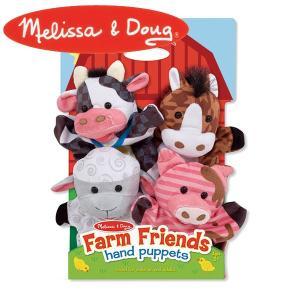 Melissa&Doug メリッサ&ダグ パペット ファームフレンズ MD9080 知育玩具 sun-wa