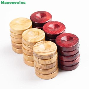 Manopoulos モノプロス オリーブチェッカー・レッド MNPB2R 知育玩具|sun-wa