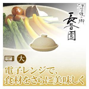 長谷園 伊賀焼 陶珍菜 大 電子レンジ専用 NC-24(鍋、グリル)|sun-wa