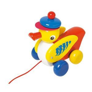 ニック プルトーイ 帽子のあひる NC63797(知育玩具)|sun-wa