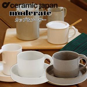 セラミックジャパン モデラートカップ&ソーサー OM-1