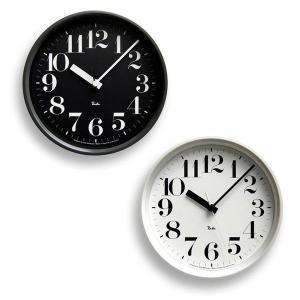掛け時計 おしゃれ レムノス 掛け時計 リキクロック スチールタイプ 数字指標 RIKISCLOCKsuuji|sun-wa