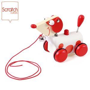 SCRATCH スクラッチ プルアロングドック ジャック SC1010 知育玩具|sun-wa
