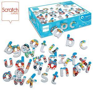 SCRATCH スクラッチ ABCマグネット シティ 60ピース SC1065 知育玩具|sun-wa