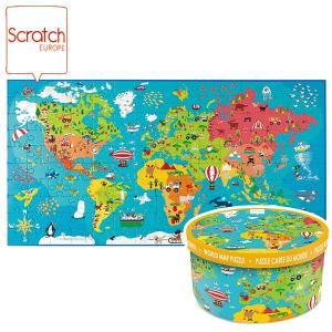 SCRATCH スクラッチ パズル 150ピース ワールドワイド SC1076 知育玩具|sun-wa