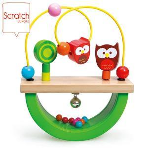 SCRATCH スクラッチ バランス フクロウ ルー SC1081 知育玩具|sun-wa