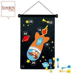 SCRATCH スクラッチ マグネティックダーツ アストロノーツ SC2001 知育玩具 sun-wa