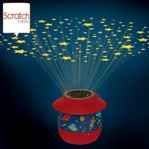 SCRATCH スクラッチ プロジェクション ナイトライト スペース SC2318 知育玩具|sun-wa