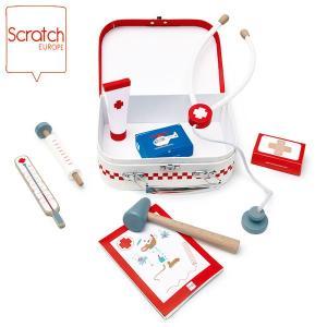 SCRATCH スクラッチ ドクターズ スーツケース SC2517 知育玩具|sun-wa