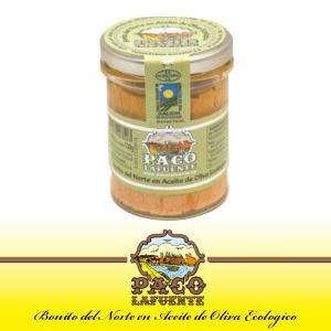 ホワイトツナのオリーブオイル漬け(瓶入り)  パコ ラフェンテは100年以上魚介類の缶詰を作り続けて...