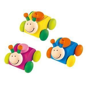 セレクタ ブーブーロリーナ SE61038(ベビー用電車のおもちゃ、車) 知育玩具|sun-wa