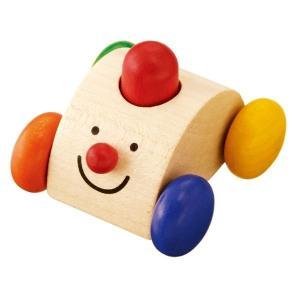 セレクタ クラクションカー SE61039(ベビー用電車のおもちゃ、車) 知育玩具|sun-wa