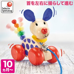 セレクタ プルトーイ・ニコ SE62026(知育玩具) SELECTA 赤ちゃん おもちゃ 0歳 1歳 1歳半 2歳  クリスマスプレゼントの画像