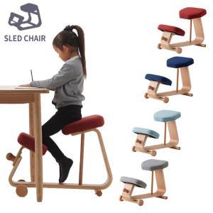 【送料無料・完成品】学習 チェア 木製 勉強 椅子 子供 大人 PC 机 おしゃれ デスク ダイニング リビング 補正 猫背 矯正 スレッドチェア(SLED CHAIR)sled-2|sun-wa