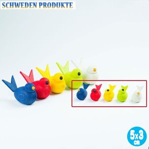SCHWEDEN PRODUKTE シュベーデン・プロダクテ スェーデンフォーゲル・小 (青・赤・黄・緑・白) SP5182 知育玩具|sun-wa