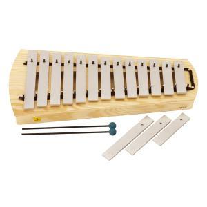 【9/16-21はポイント最大17倍!】スタジオ49 卓上メタロフォン・ソプラノ STSM1000(楽器玩具) 知育玩具|sun-wa