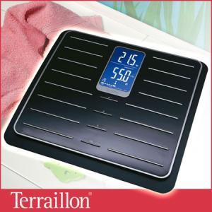 旧商品 Terraillon 体脂肪計 TFA Cileo ブラック&クロム TBS801CR|sun-wa|02