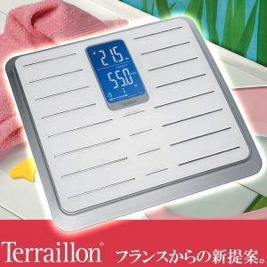 【新品在庫処分アウトレット保証なし】テライヨン 体組成計 TFA シレオ ホワイト TBS801WT|sun-wa