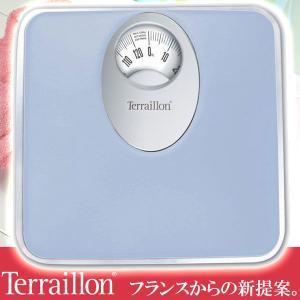 旧商品 テライヨン 体重計 T61 ブルー TBS855BL|sun-wa