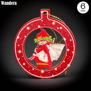 Wandera ヴァンデーラ クラシックオーナメント・女の子 WR8605 知育玩具|sun-wa