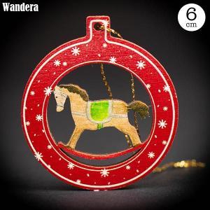 Wandera ヴァンデーラ クラシックオーナメント・ロッキングホース WR8606 知育玩具|sun-wa