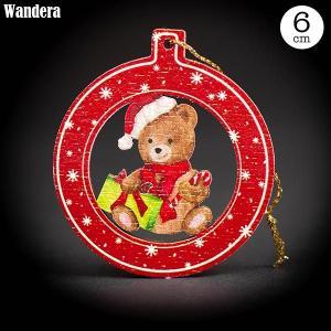 Wandera ヴァンデーラ クラシックオーナメント・プレゼントベア WR8609 知育玩具|sun-wa