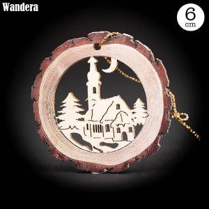 Wandera ヴァンデーラ バウムオーナメント・教会 WR8622 知育玩具|sun-wa