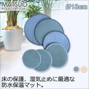 ナチュラルマット Natural Mat 丸 18cm Z-180 sun-wa