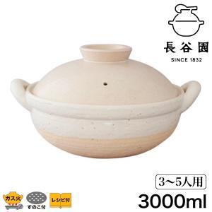土鍋 おしゃれ 日本製 9号 長谷園 伊賀焼 ヘルシー蒸し鍋 白 大 ZW-19(鍋、グリル)|sun-wa|02